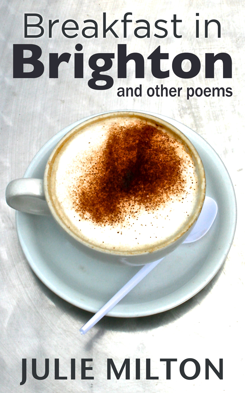 Breakfast In Brighton by Julie Milton book cover - designed by Hook Web & Print