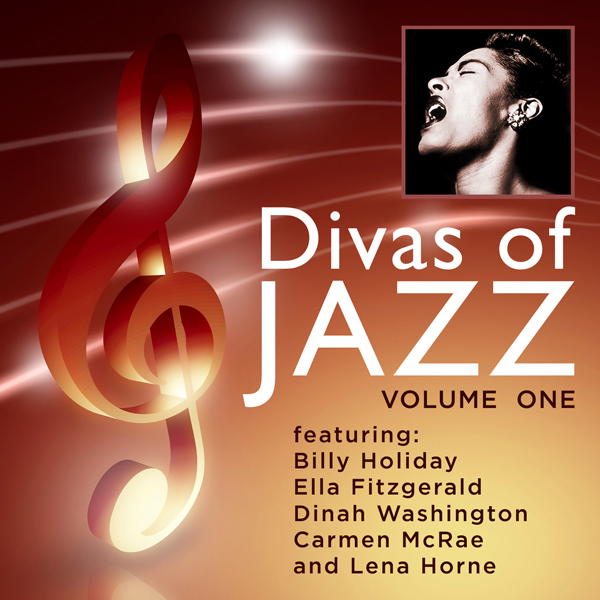 CD Artwork - Divas Of Jazz Vol 1