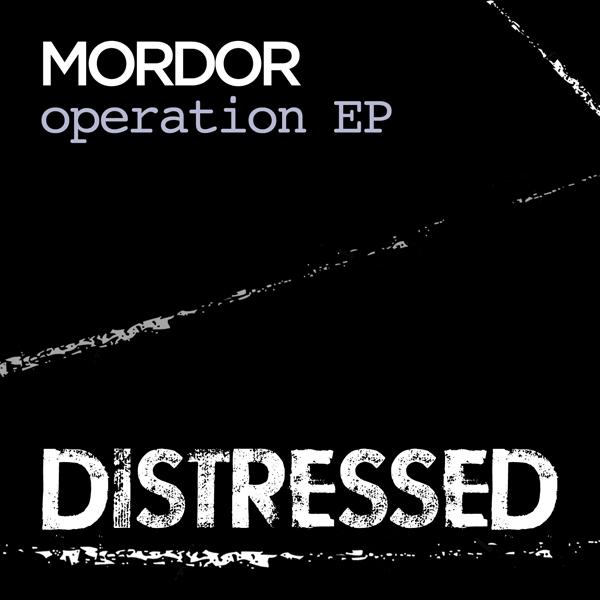 Label artwork - Distressed Records