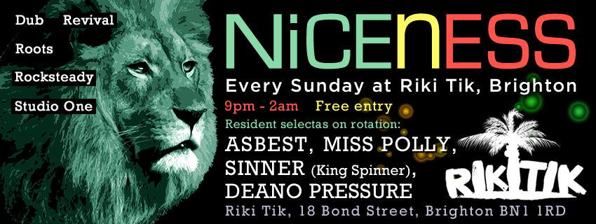 Niceness - Facebook cover artwork