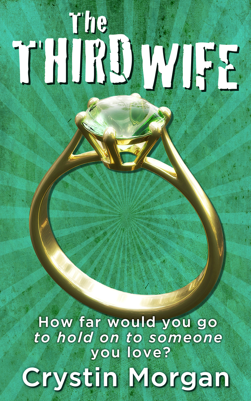 The Third Wife by Crystin Morgan book cover - designed by Hook Web & Print