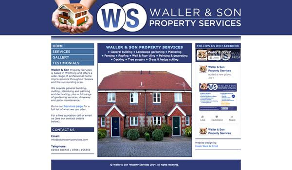 Waller & Son website